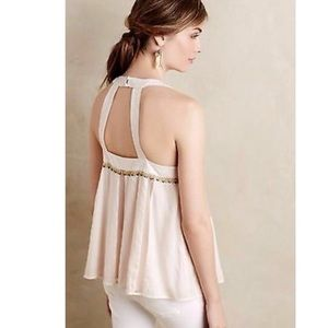 Anthropologie Tops - Anthropologie Floreat pia embroidered tank
